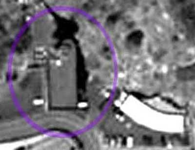 Bazy wojskowe w Norwegii - widok z satelity