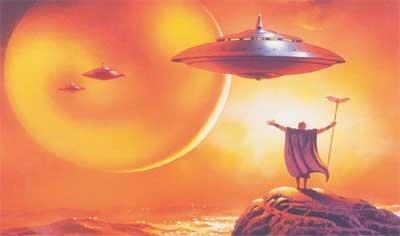 Mojżesz i statki kosmiczne nad górą Synaj